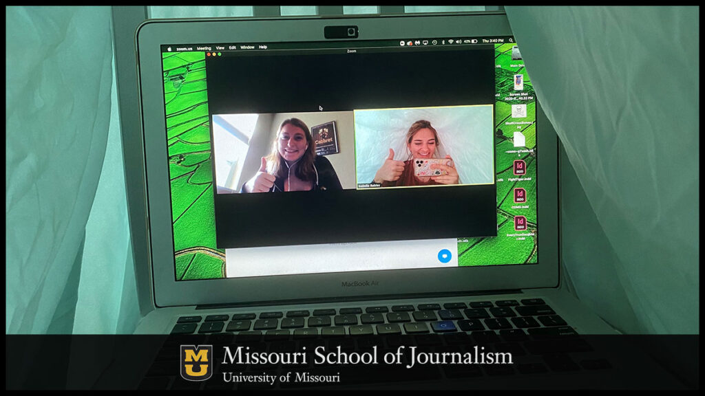 Missouri School of Journalism students working for Missouri Business Alert are sometimes having to get creative during COVID-19 when it comes to creating content and connecting with audiences.