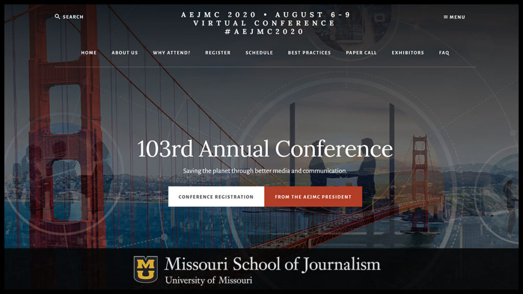 AEJMC 103rd Annual (Virtual) Conference