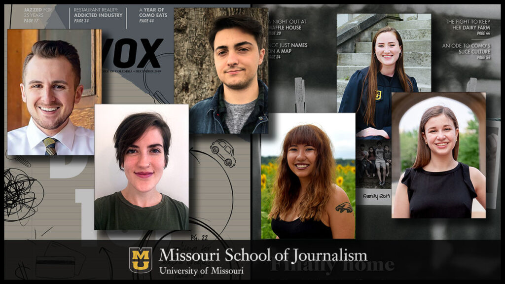 Missouri students received hands-on training - and won six awards and three honorable mentions from AEJMC along the way - while producing and designing the winning content for Vox Magazine, a cross-platform city magazine providing insight on local news and culture.