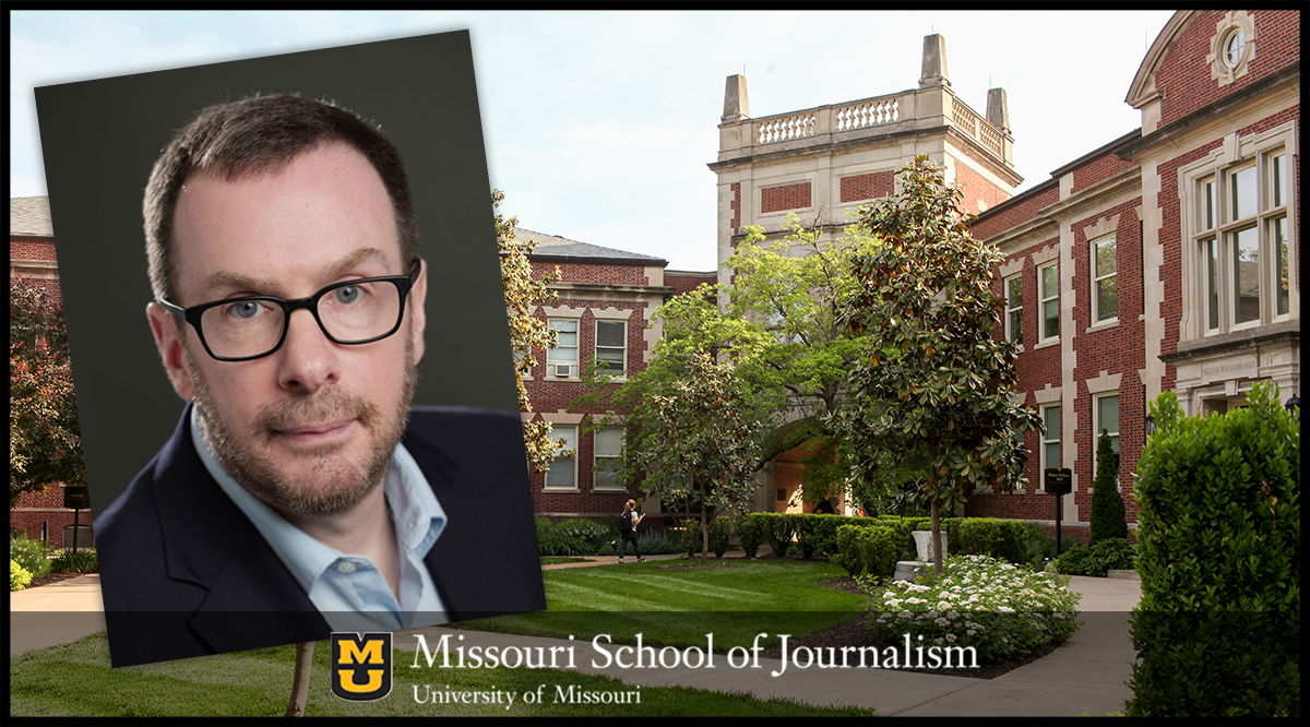 Journalism Professor David Herzog awarded the 2020 Provost's Award for Leadership for International Education