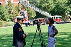 Destinee Patterson interviews Missouri State Fire Marshall Tim Bean