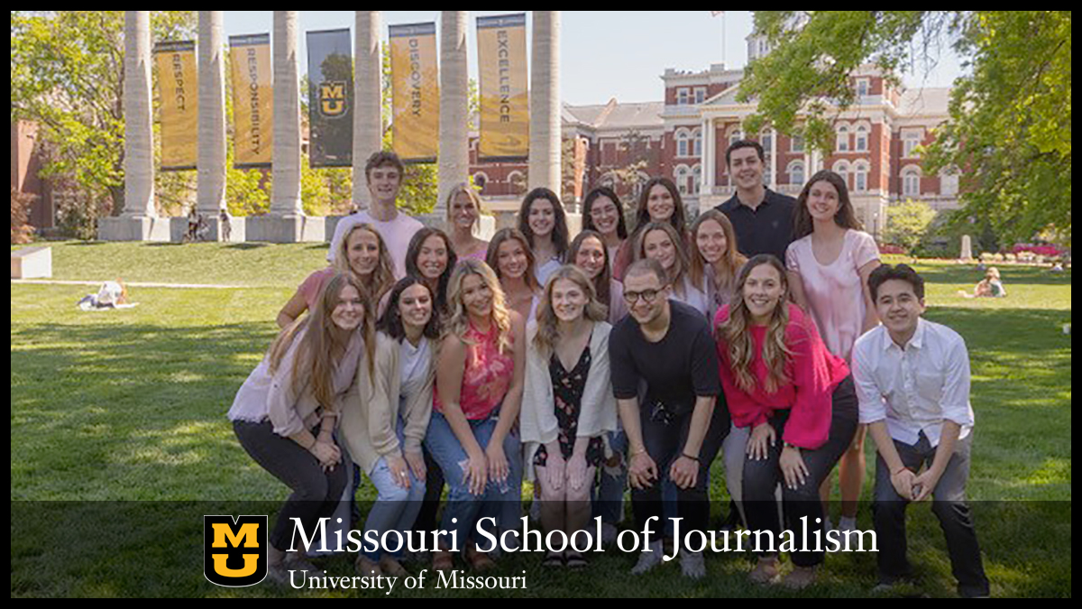 Missouri School of Journalism's 2021 National Student Advertising Competition (NSAC) team
